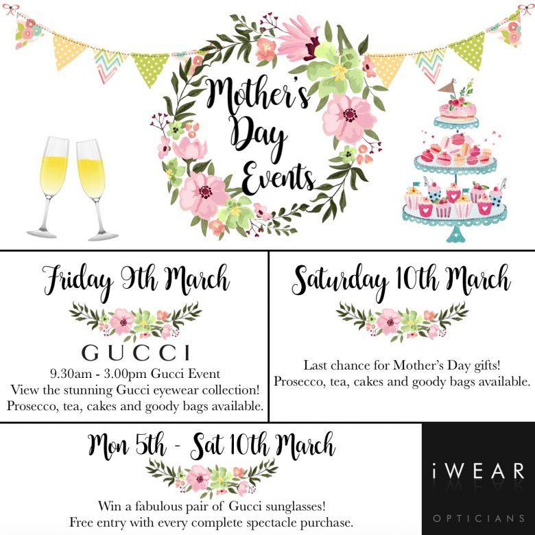 Mother's Day Events - iWear iWear